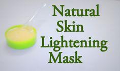 Skin Lightening Mask at Home