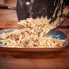 ESSEN & TRINKEN - Nudeln mit Sauerkrautrahm Rezept