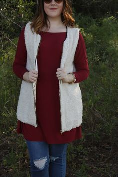 Mad Mary's Apple Pickin' PIKO and Cloud 9 vest is a perfect game day outfit!