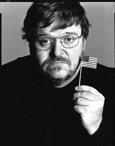 Michael Moore by Richard Avedon, 2004