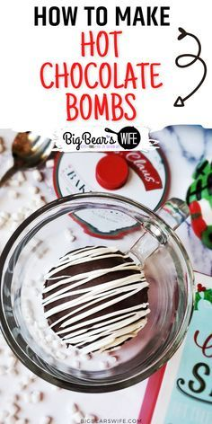 Chocolate Candy Melts, Hot Chocolate Gifts, Christmas Hot Chocolate, Hot Chocolate Mix, Homemade Hot Chocolate, Hot Chocolate Recipes, Chocolate Treats, Melting Chocolate, Chocolate Drizzle