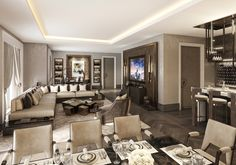5* Hotel Residences Astana Modern Lounge