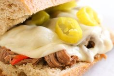 Slow Cooker Italian Beef Hoagies – Our First Meal in Our New Home!