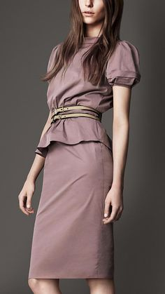 Burberry London. chic work wear