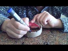 ▶ como hacer un telar redondo o reloj para hacer flores - YouTube