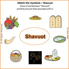 shavuot word search