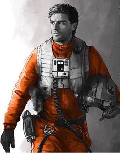 Poe Dameron - Star Wars: The Force Awakens