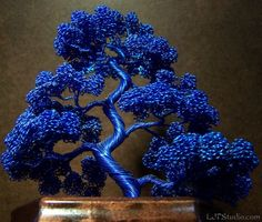 A Guide To Bonsai Trees For Beginners Bonsai Tree Price, Bonsai Trees For Sale, Tree Sale, Sculpture Stand, Wire Tree Sculpture, Sculptures, Seed Bead Patterns, Beading Patterns, Copper Wire Art