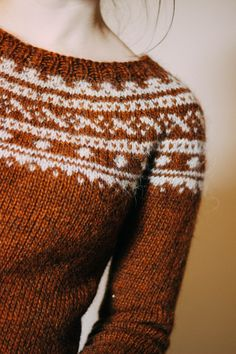 I love the yoke jumpers!!