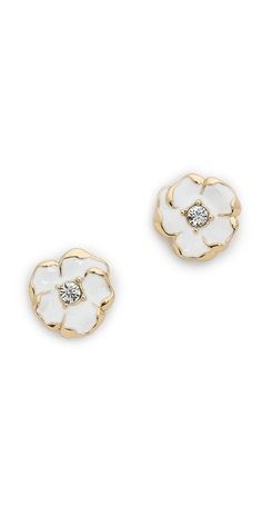 Kate Spade New York Beach House Bouquet Mini Stud Earrings   SHOPBOP