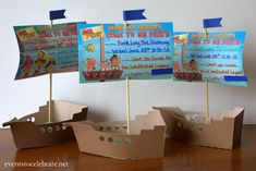 Jake and the Neverland Pirates FREE Printable invite elevated with a few simple touches! Events To Celebrate