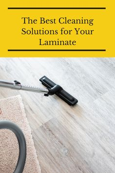 Are you cleaning your laminate floors correctly? Keep reading to find out. Flooring 101, Types Of Flooring, Laminate Flooring, Floors, Cleaning Solutions, How To Find Out, Home Appliances, Good Things, Reading