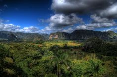 Lovely photo of the Vinales Valley in Cuba Vinales, Cigars, Cuba, Rio, Presentation, Mountains, Landscape, Nature, Travel
