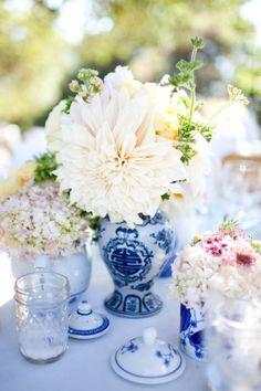 Decoração Azul Ginger Jar | Blue Decor Ginger Jar
