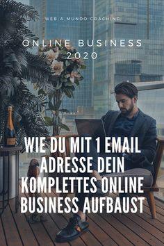 Online Business 2020 - Wie du mit 1 Email Adresse dein Komplettes Online Business aufbaust #onlinebusiness #erfolg #onlinebusinessaufbauen #onlinebusinessideen #coaching #coachingberatung Coaching, Motivation, Content Marketing, Online Business, Group, Website, Lifestyle, Building, Board