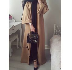 Hijab Fashion Selection of over 100 looks in trendy and chic Abaya