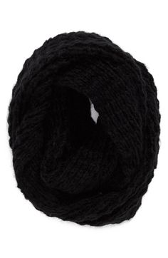 Halogen® Waffle Knit Infinity Scarf available at #Nordstrom