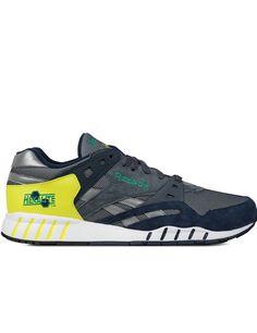 2c20a54857c8 Collegiate Navy Graphite Hyper Green Green Sole-Trainer Sneakers