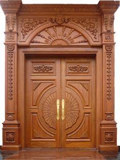 Mẫu cửa gỗ đẹp và hiện đại - Nội thất Huỳnh Gia Mộc