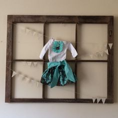A personal favorite from my Etsy shop https://www.etsy.com/listing/268188748/newborn-skirt-top-set