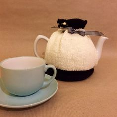 Items similar to Tea Cosy - Hand Knitted Tea Cozy - Tea Pot Cosy - Teapot Warmer - Knitted Tea Cosy - Quirky Mothers Day Gift- Black and White Tea Cosy - Tea on Etsy Quirky Christmas Gifts, Christmas Shopping, Holiday Gifts, Handmade Shop, Handmade Items, Tea Cozy, Cozies, Shopping Mall, Teapot