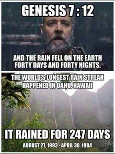 Already been proven the great flood never occurred.. Civilizations and dynasties still existed throughout the supposed time..babble