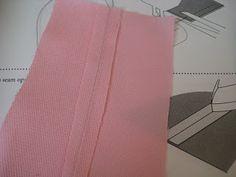 sew a straight line: Plain Seam