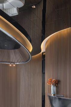 Interior Ceiling Design, Condo Interior, Interior Lighting, Luxury Interior, Light Architecture, Architecture Design, Hotel Lobby Design, Public Hotel, Cove Lighting