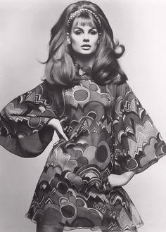 Jean Shrimpton, c. 1965.