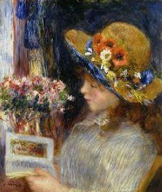 Renoir, Pierre-Auguste : Reading Girl