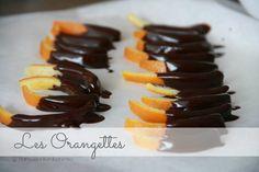 Les Orangettes: kandyzowana skórka pomarańczowa w czekoladzie