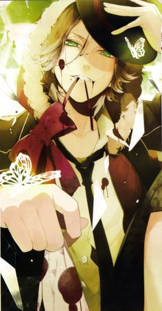 Diabolik lovers... Wasn't into Laito at first, but it's hard to deny his sexiness ;P