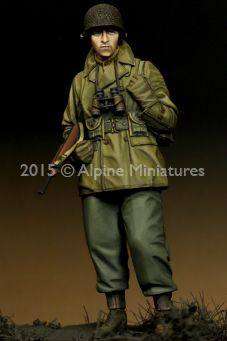35203 WW2 US Infantry Officer