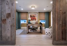 rustic mixed with modern