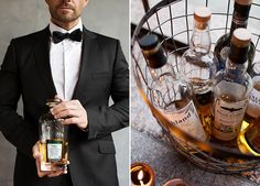 Ideen Whisky Bar und Saltybar | Friedatheres.com  whisky wedding  Fotografie: Doreen Kühr Brautstyling: Les Allures Headpiece: Jannie Baltzer Salty Bar & Snack: Katja von Torten Schätzle Brautkleid: Rembo Styling über Festtruhe Whisky: Brühler Whiskyhaus Floristik: Blumehaus Odenthal Papeterie: Pixel meets Love Herrenausstatter: The Bloke Location: Alte Miste Planung & Umsetzung: Maria von Stiletto Weddings
