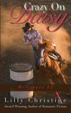 Daisy Antelerone has lost it all: her ranch is gone, her Momma's gone, her truck's busted, and she just buried her Daddy. Her sights are on the Texas Rodeo Circuit Barrel Racing title and she's willing to risk whatever it takes to win. Hank Gallagher's got a heart the size of Texas, and it's desperate for Daisy. He gambles the ranch to fix things, and winds up deeply troubled~ and deeply in love..Crazy On Daisy (McGreers #2) http://www.amazon.com/dp/B00IDC062E/