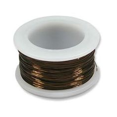 BeadSmith Antique Vintage Bronze Brass Color Copper Craft Wire 20 Gauge  10 Yds ** Click image for more details. (This is an affiliate link) #BeadingJewelryMaking