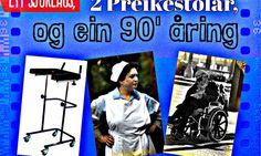 Ett sjukehus, 2 Preikestolar og ein 90 åring   Meg …