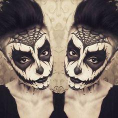 Dark Sugar Skull | Community Post: 32 Jaw-Dropping Halloween Makeup Ideas