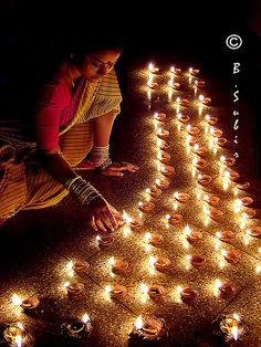 Happy Diwali by subirbasak., via Flickr