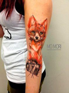 EL MAS ASTUTO DE LOS ANIMALES DEL BOSQUE.  50 Tatuajes con una descripción completa del riquísimo simbolismos de este mágico animal de lo...