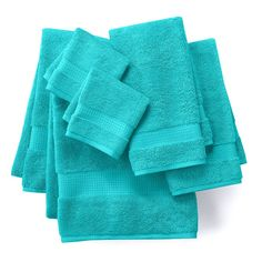These Apt. 9 Highly Absorbent bath towels are sure to be a hit in your home. Mix and match the modern way. Count on compliments using these fashionable bathroom towels.