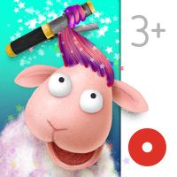 Silly Billy Hair Salon #SmartAppsForKids #InteractiveApps #CreativePlay #SillyBilly #InteractiveHairSalons #FunTimes