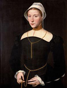 Portrait of a Lady - Willem Key