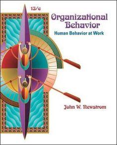 Organizational Behavior: Human Behavior at Work PDF Free Online Organizational Behavior, Public Administration, Mcgraw Hill, Human Behavior, Books Online, Audio Books, Leadership, My Books, My Photos
