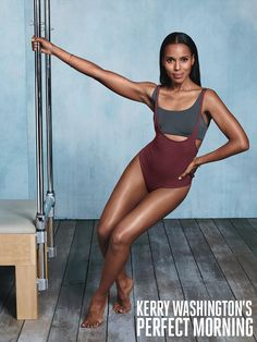 Kerry Washington's Perfect Morning How the actress and SELF cover star starts her day with focus and plenty of energy.  #UPNOUT,KERRY WASHINGTON