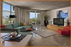 The Tower Loft Suite at the Hotel Valley Ho in Scottsdale, Arizona.