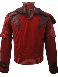 Unisex Guardians of the Galaxy Vol. 2 Peter Quill Star-Lord jacket coat outfit superhero team halloween make-up costume xmas birthday gift