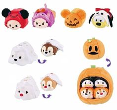 2015 Halloween Tsum Tsum Preview