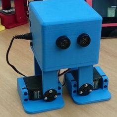 Watch this robot dance like Michael Jackson. #Atmel #Robotics #Robots #3DPrinting #Arduino